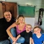 Stephanie and family B