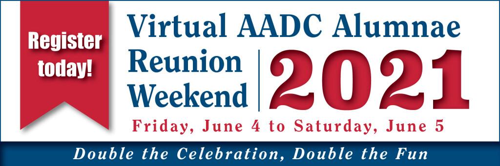 2021 Virtual Reunion Banner - Register